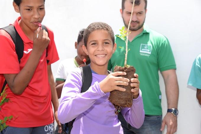 Meio Ambiente: Diversas Escolas recebem orientações no mês da Primavera