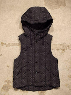 "FWK by Engineered Garments ""Hood Vest"" Fall/Winter 2016"