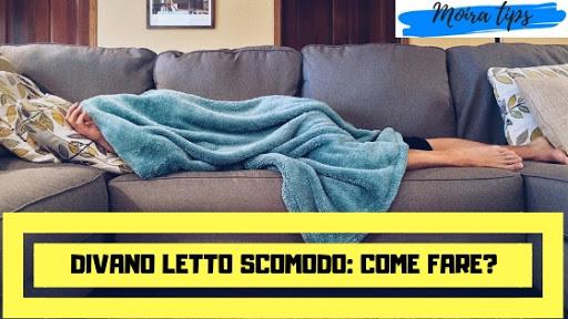 materasso divano letto scomodo