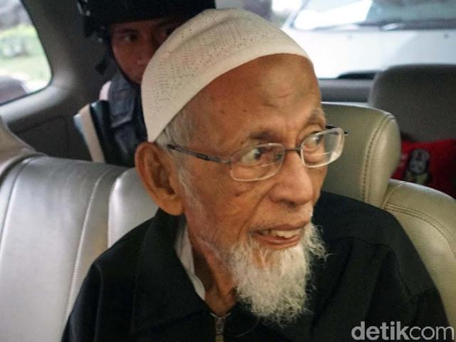 Surati Jokowi, Abu Bakar Ba'asyir Minta Dibebaskan karena Corona