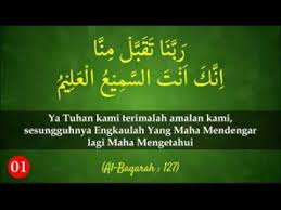 Kumpulan Doa Yang Terkandung Dalam Al-Quran Lengkap Arab, Latin dan Artinya