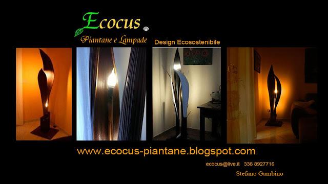 Ecocus piantane e lampade design ecosostenibile arredo esclusivo