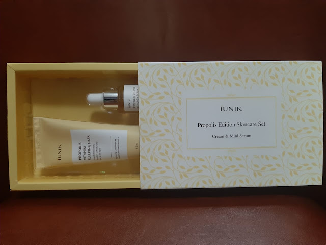 Review iUNIK  Propolis Edition Skincare Set