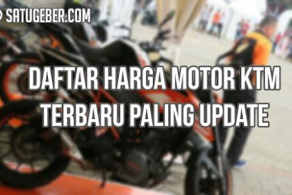 Daftar Harga Motor KTM Terbaru Paling Update!