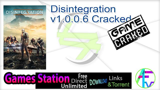 Disintegration v1.0.0.6 Cracked