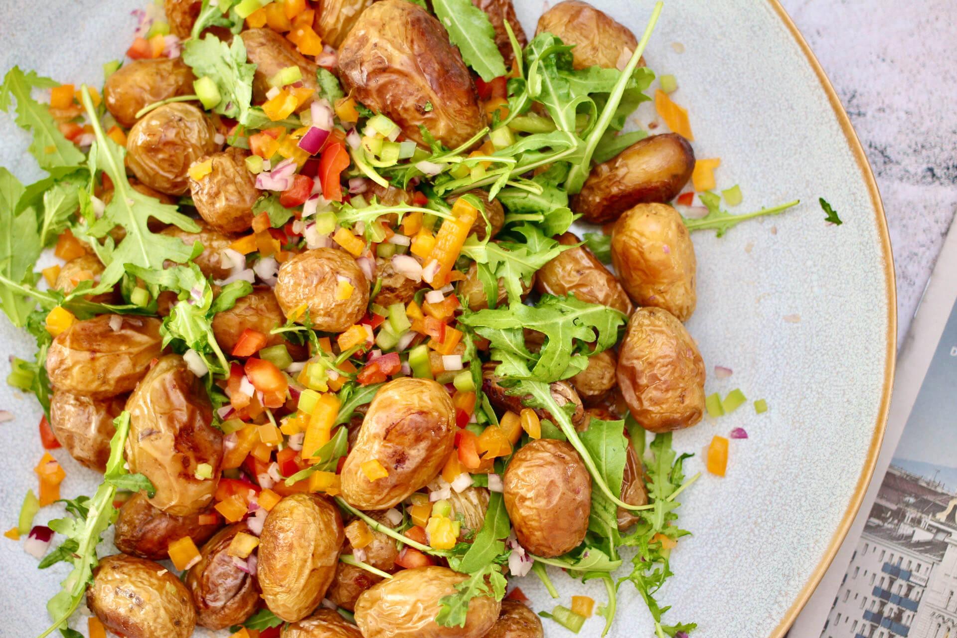 Veggie Kartoffelpfanne