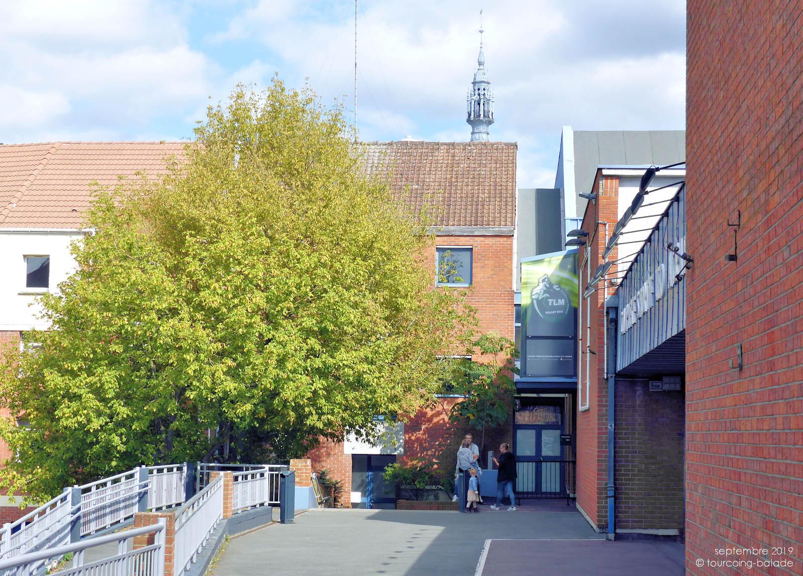 Salle Léo Lagrange, Tourcoing - Entrée extérieure