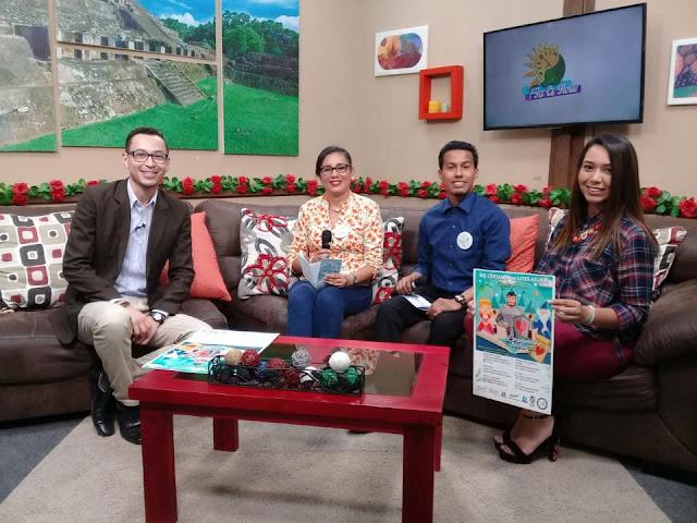 Nueva Acrópolis difunde certamen de literatura en televisión Ya es hora WowTV de Chalchuapa