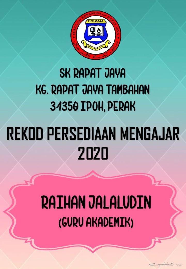 Kandungan Fail Rph 2020 Raihan Jalaludin S Blog