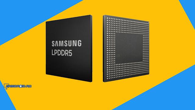 Samsung a lansat noua generație de chip-uri cu 8 GB memorie RAM LPDDR5 dedicată 5G și AI