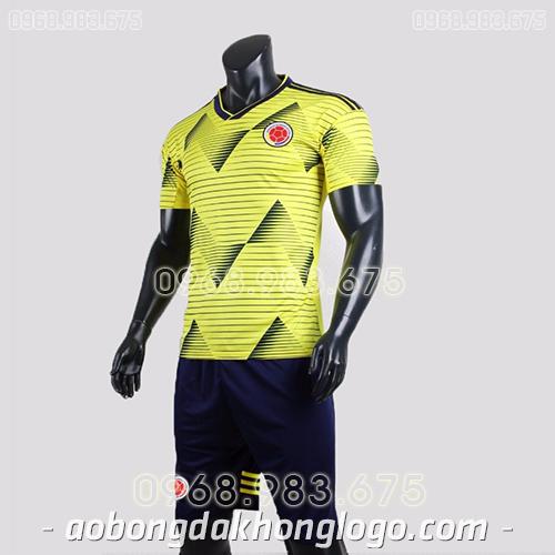 Áo đội tuyển Colombia màu vàng 2020