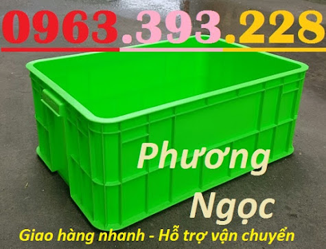 Thùng nhựa có nắp, thùng nhựa đặc HS017, sóng nhựa bít HS017 T%25C4%2590255