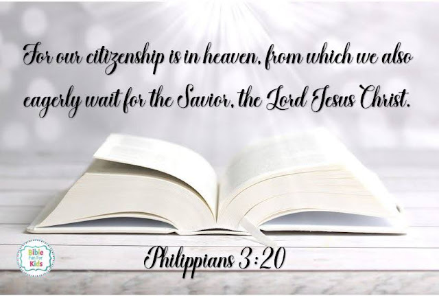 Our citizenship is in heaven #Biblefun #Biblequote #meaningfulscripture #scripturequote