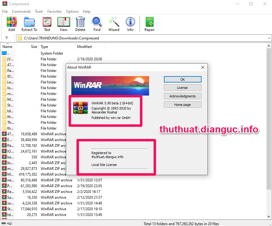 tie-smallDownload WinRAR 5.91 Full Key mới nhất 2020