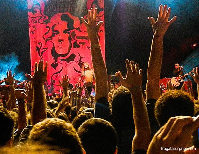 Show de Robert Plant no Ginásio Nilson Nelson, Brasília