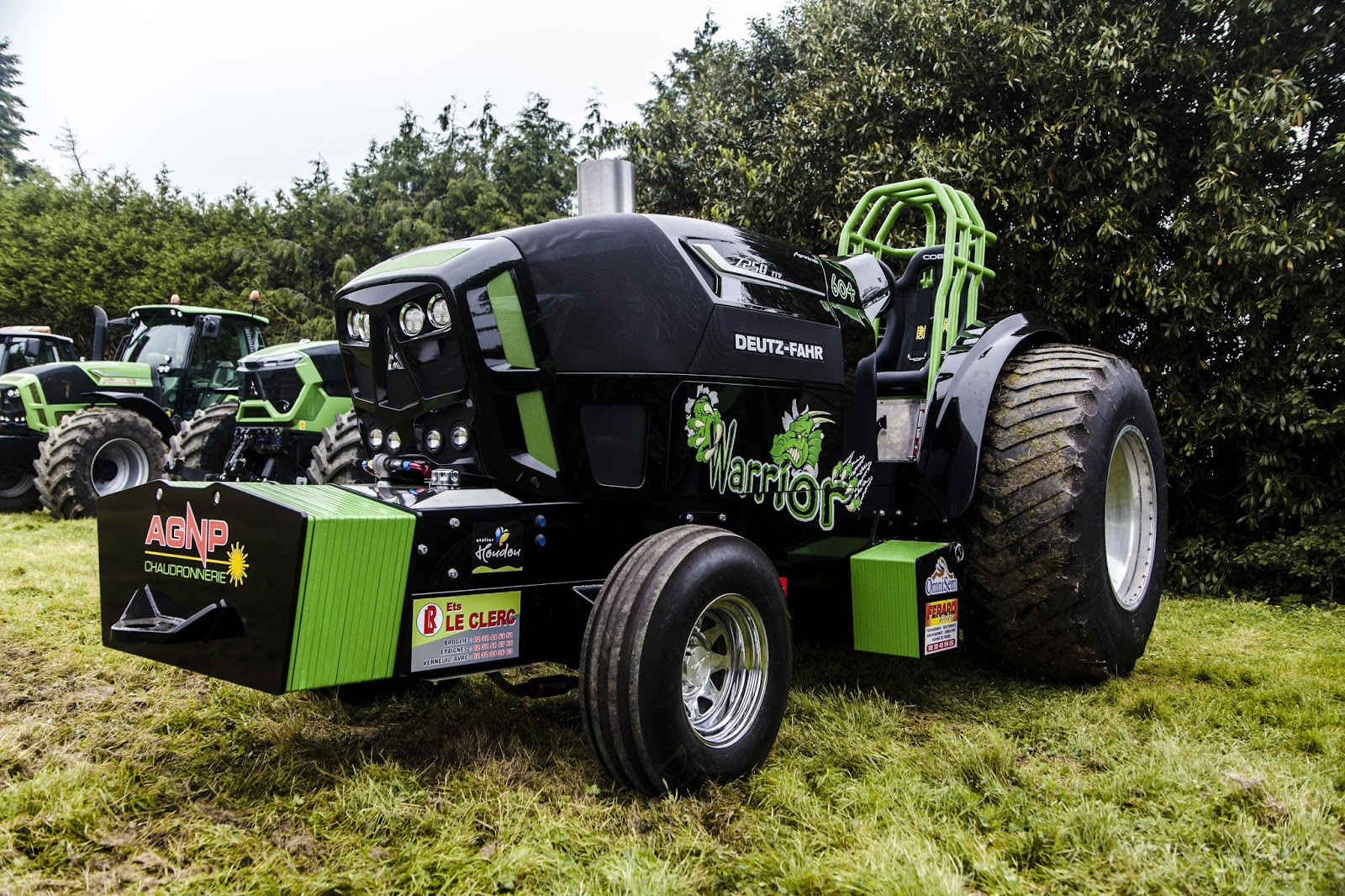 Super Pro Stock Pulling Tractor : Tractor pulling news pullingworld the new warrior