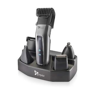SYSKA Corded & Cordless trimmer for men