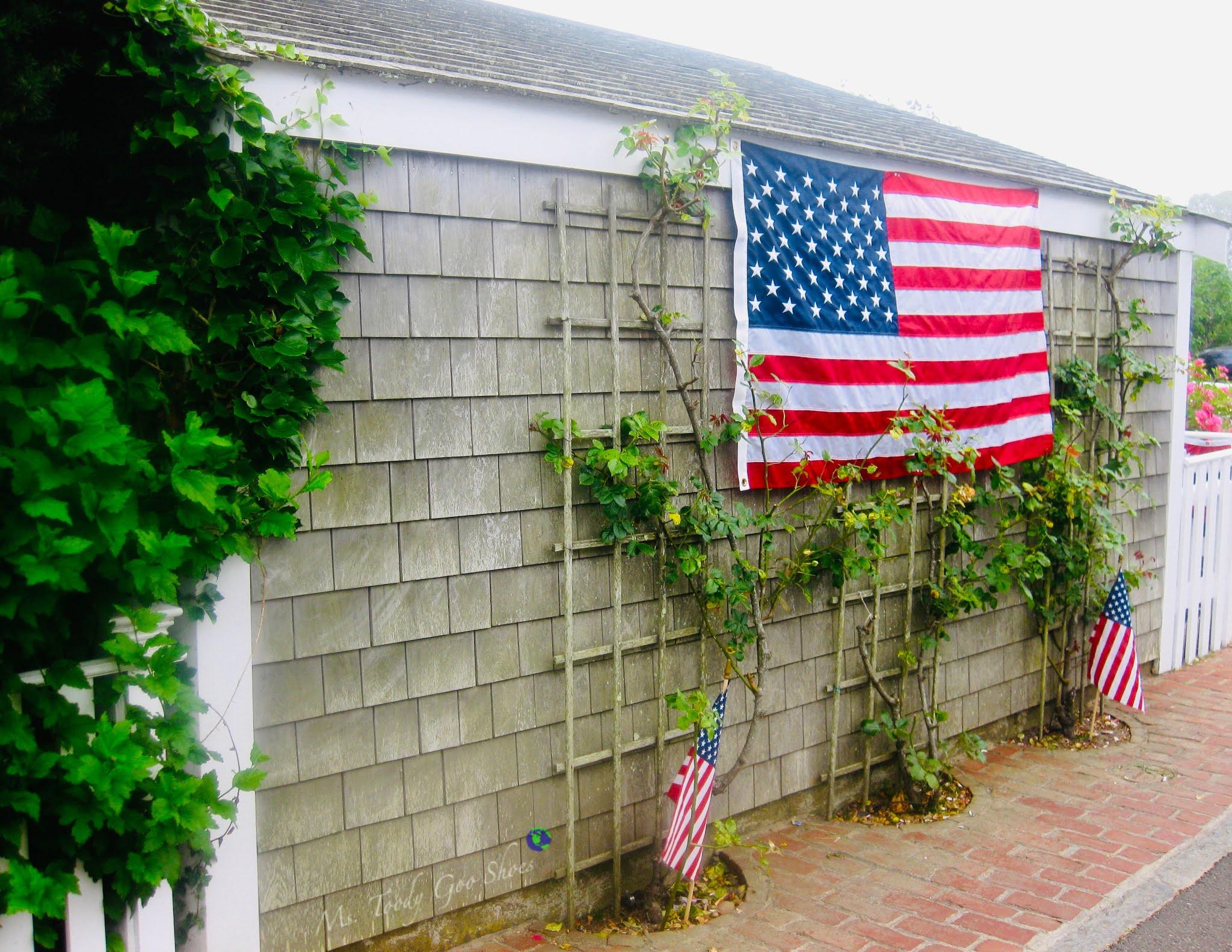 American Flags, Martha's Vineyard, MA | Ms. Toody Goo Shoes
