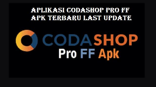 Codashop Pro FF Apk Terbaru Last Update