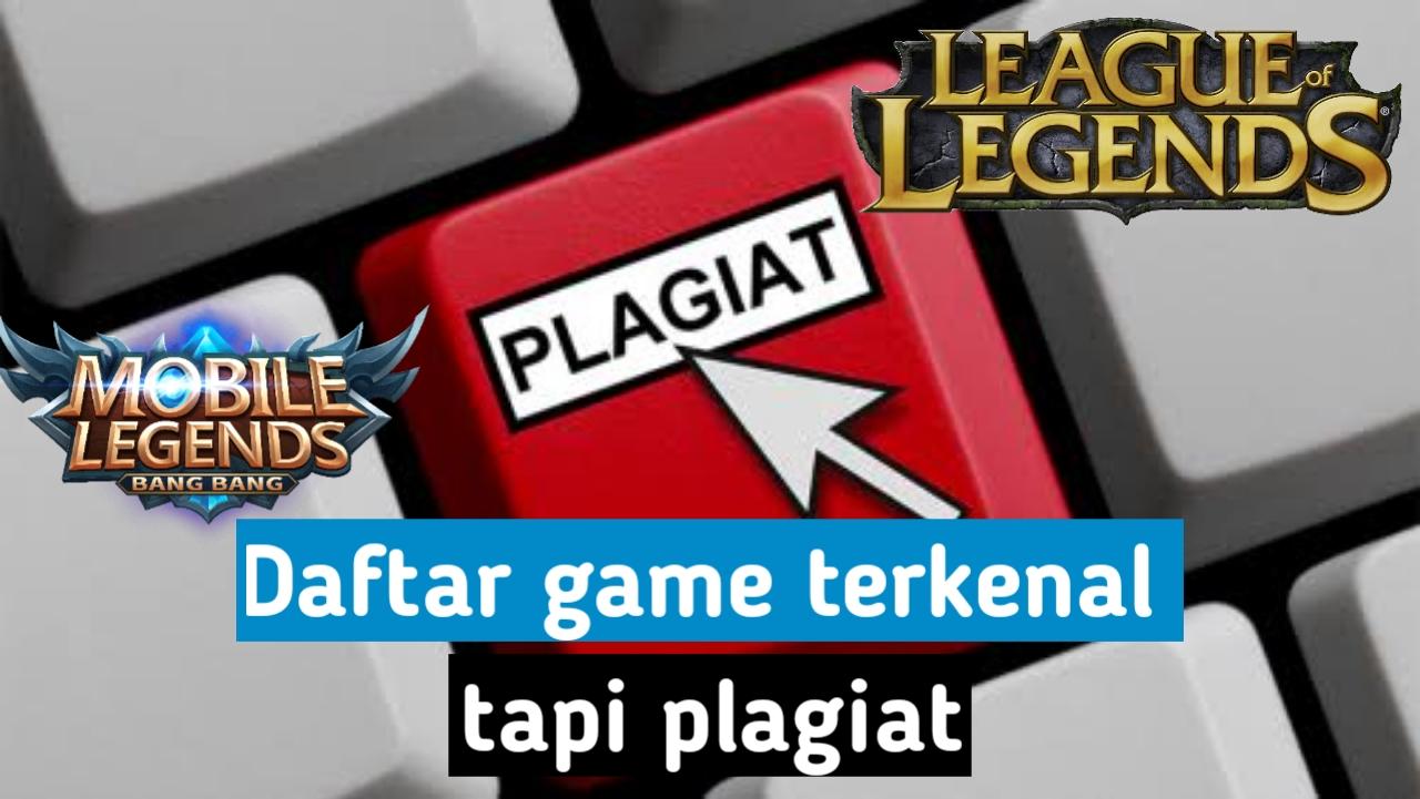 Game terkenal plagiat