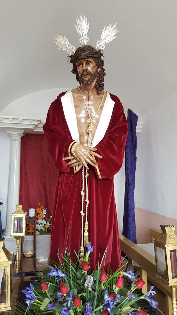 La hermandad del Stmo Cristo de la Misericordia de Berja renueva la banda cara al 2021