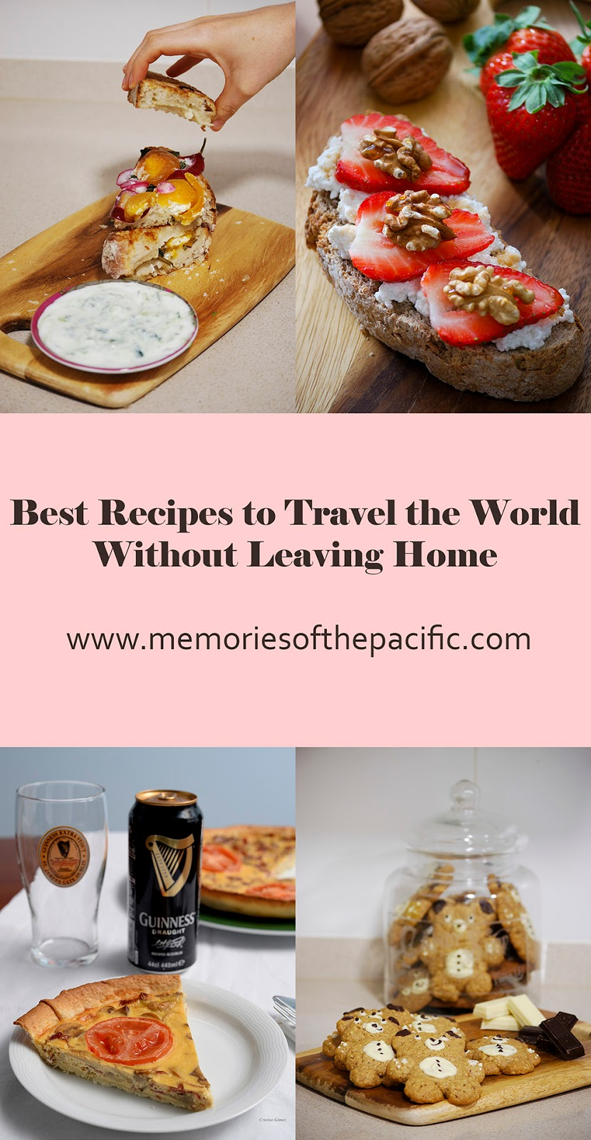 travel-inspired recipes food