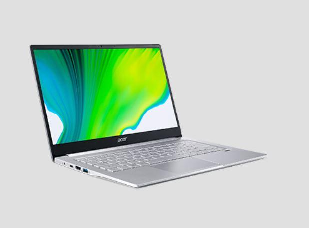 Harga dan Spesifikasi Acer Swift 3 SF313-53 53F7, Laptop Layar 2K Termurah