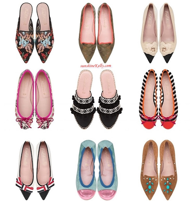 Pretty Ballerinas, Princess Olympia of Greece, Shoes Collection, Spring Summer 2019