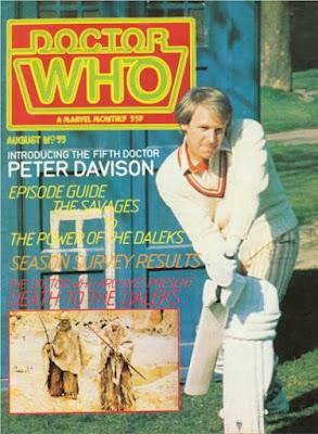 Doctor Who magazine #55, Peter Davison