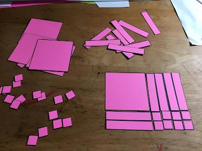 paper algebra tiles