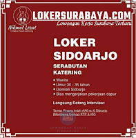 Walk In Interview di Nikmat Lezat Chinese Food Catering Sidoarjo Oktober 2020