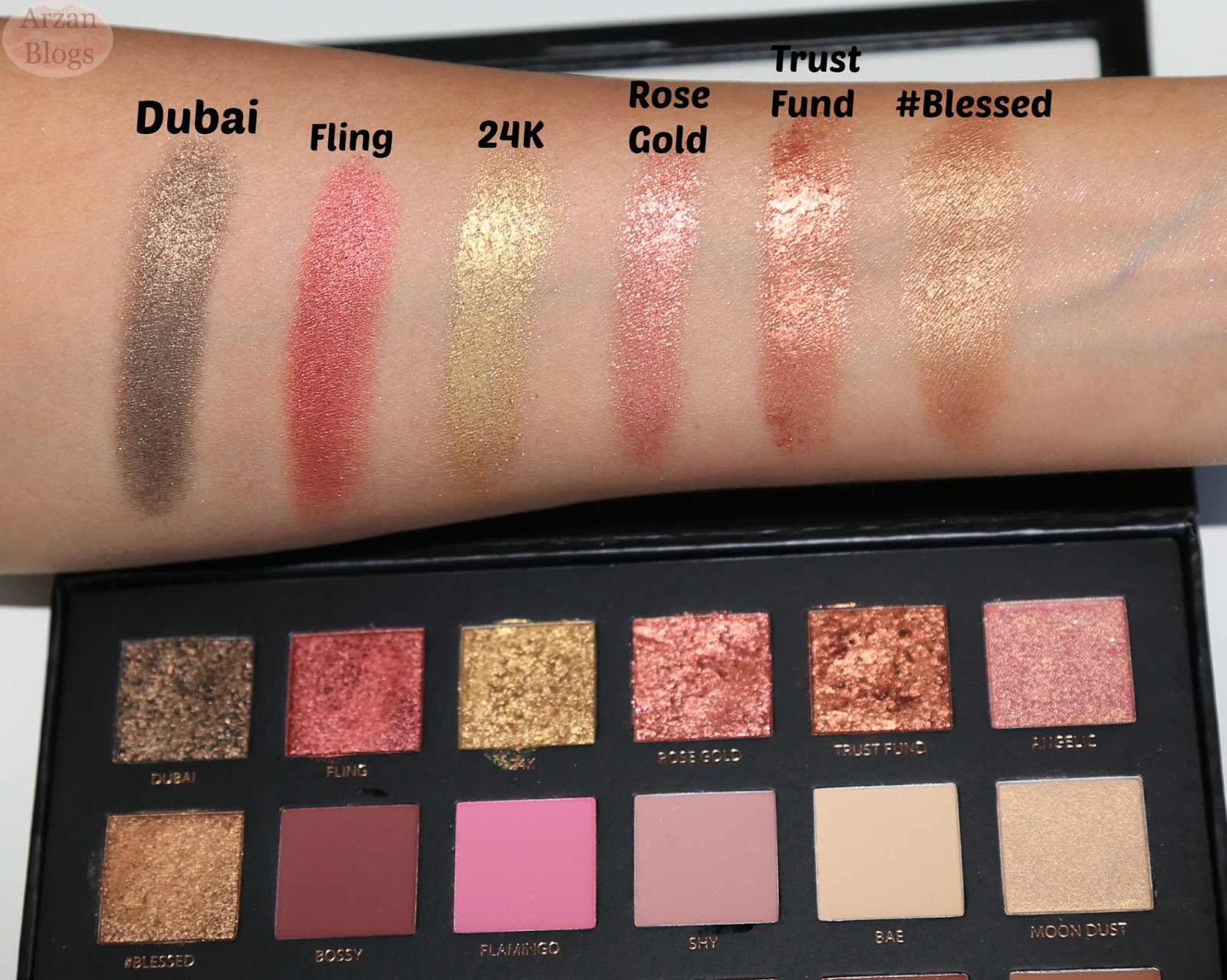 Nude Eyeshadow Palette Huda Beauty