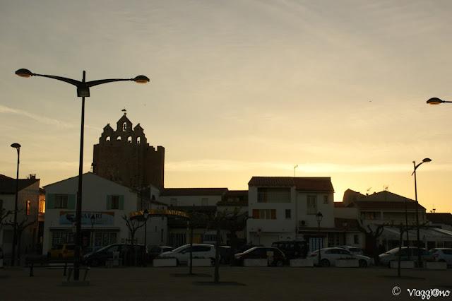 Piazza del Municipio al tramonto