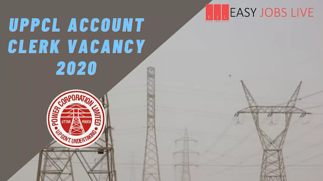 UPPCL Account Clerk Vacancy 2020