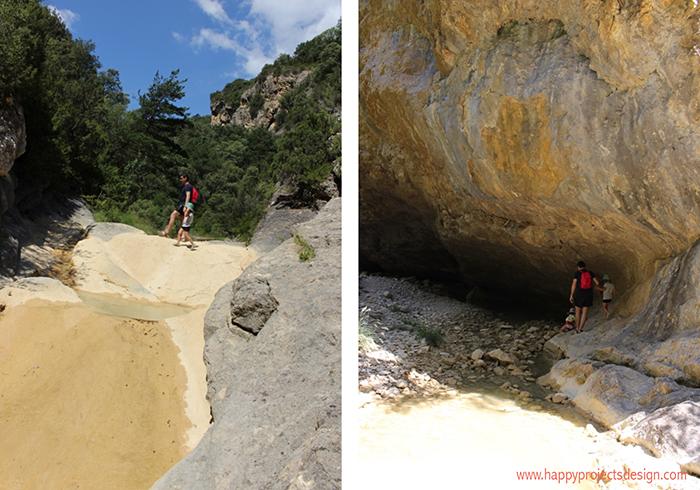 Pirineo de Huesca: cascada del confesionario