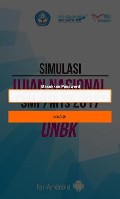 Simulasi UN SMP 2017 UNBK.1