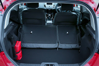 2017 Ford Kuga facelift boot space