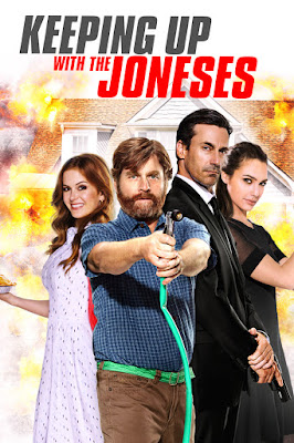 Keeping Up with the Joneses Poster
