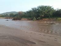 Boas chuvas foram registradas na tarde e noite de sexta (28) no município de Carnaúba dos Dantas