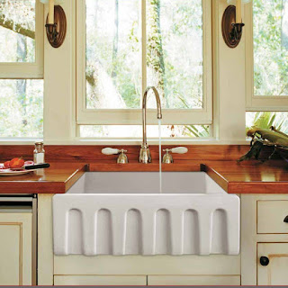 Fluted Farmhouse Sink