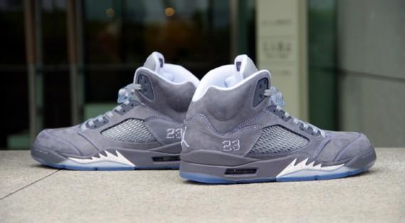 BLAST_OFF: Closer Look: Air Jordan Retro 5 - 'Wolf Grey' | 570 x 314 jpeg 35kB