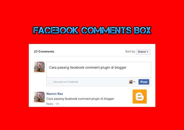 Cara pasang facebook comment plugin di blogger