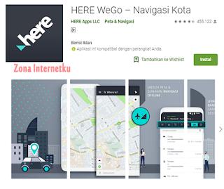 HERE WeGo – Navigasi Kota