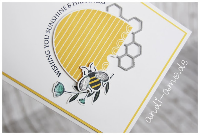 Stampin Up Honey Bee Bienenstock