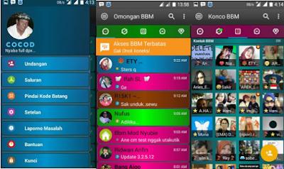 BBM MOD DISCO APK V3.2.5.12 [BBM Kelap Kelip]