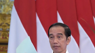 Presiden Jokowi Serahkan 584.407 Sertifikat Hak Atas Tanah secara Virtual