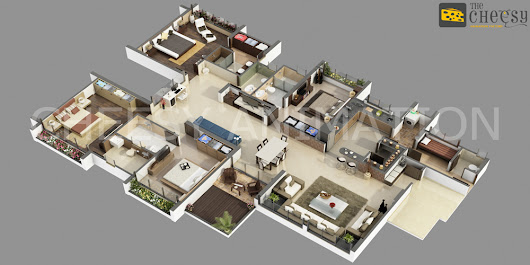 3D Floor Plan Designs Studio in USA