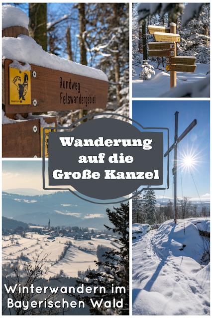 Rundweg Felswandergebiet  Wandern im Nationalpark Bayerischer Wald 22