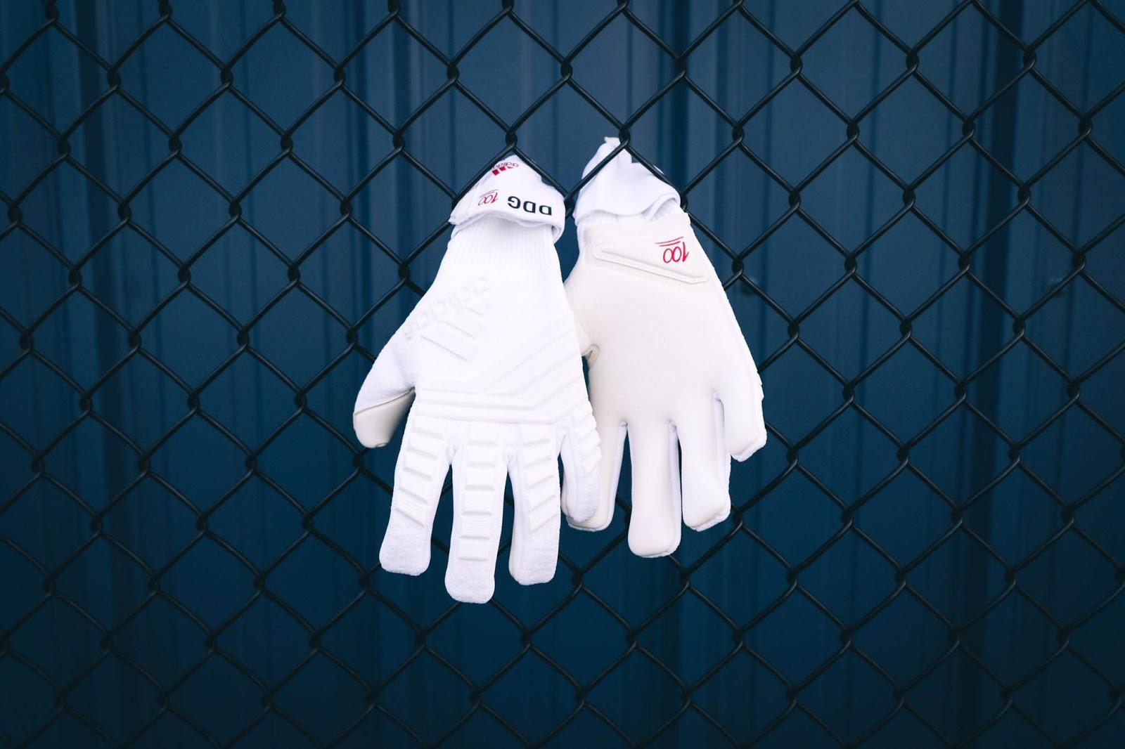 online store 9f0e9 bdffc Special Adidas David de Gea '100' Keeper Gloves Released ...