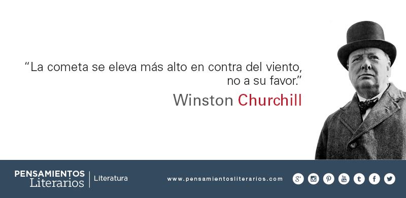 Pensamientos Literarios Winston Churchill Sobre La